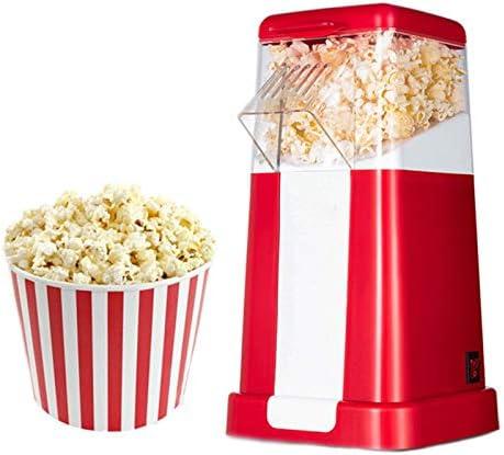 Popcornmachine, Huishoudelijke Hetelucht Automatische Popcornmachine, 1200W, Vetarm, Olievrij, Snel, Geschikt Voor Familiefeesten, Tv Kijken, Vrije Tijd