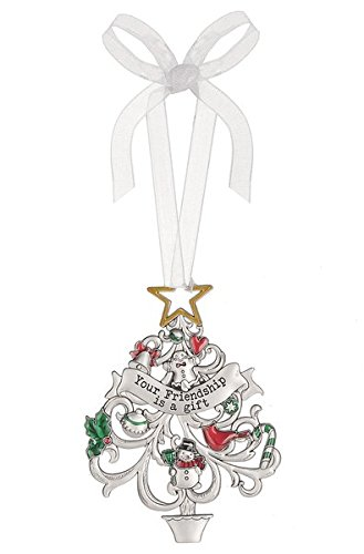 Ganz Christmas Wishes Ornament - Your Friendship Is A Gift
