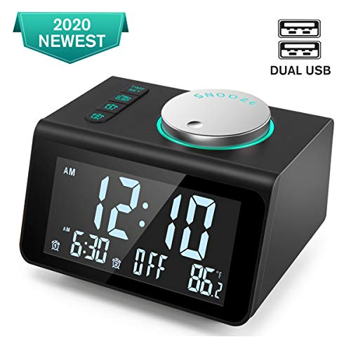 ANJANK Small Alarm Clock