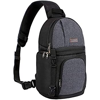 Amazon.com   Neewer Professional Camera Case Sling Backpack for ... effc9dfc6ffbf