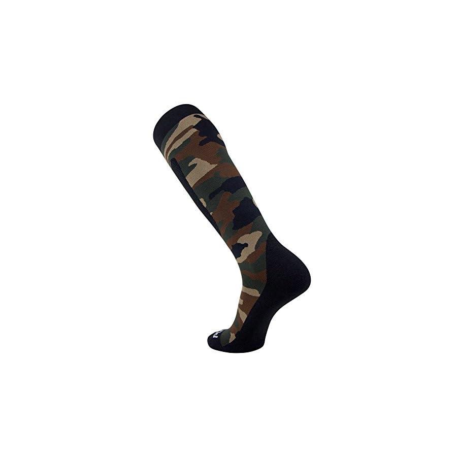 Midweight Camo Snowboard Socks – Merino Wool Winter Cold Weather OTC Ski Sock