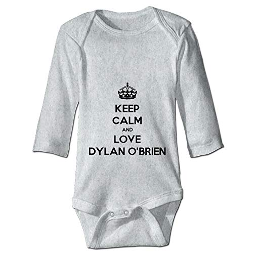 Keep Calm and Love Dylan O'brien Baby Infant Toddler Bodysuit One Piece -