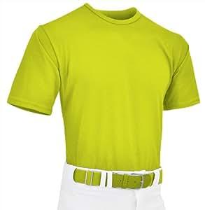 Champro Dri Gear T-Shirt (Optic Yellow, Adult/X-Large)