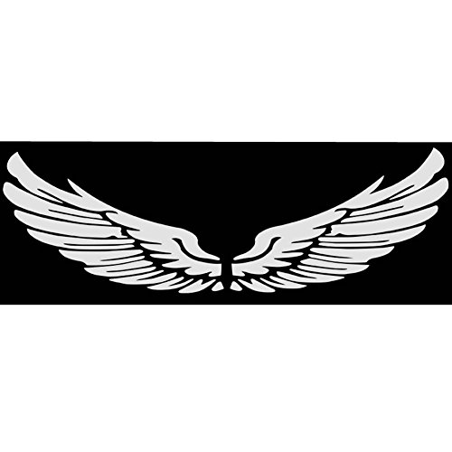 PANDA SUPERSTORE Wing Car Body Sticker Angel Wings Personality Reflective Car Stickers Decorative