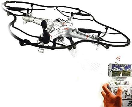 Drone 108W Videocamera HD - Wifi - 6 Canales- Headless Mode - Sigue el Live en tu smartphone iPhone o Android - Rotation flip: Amazon.es: Juguetes y juegos