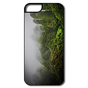 IPhone 5/5S Cases, Waterfalls Jungle White/black Cases For IPhone 5 5S