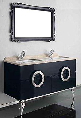 Double vasque en marbre Vasque design de la vanité de luxe 150x85x53 ...