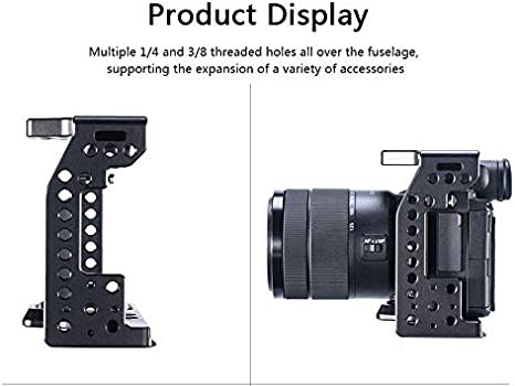 RONSHIN ConsumerElectronics UURig C-A7III Camera Cage Stabilizer Proctive Case for Sony A7M3//A7R3 Cameras AcCDssories