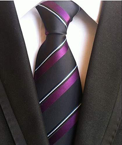 LFLJIE 8cm Corbatas para Hombre Corbatas de Moda para Hombre Nuevo ...
