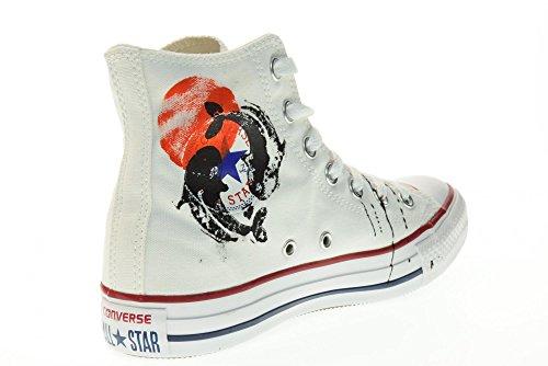 41 Converse Alta Star Japan Ltd Bianco Taglia Hi Sneakers All Canvas Unisex 156920c c7rW7Z4f