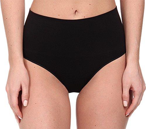 SPANX Women's Everyday Shaping Seamless Panty, Black, SM