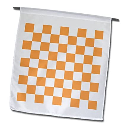 bdd83d06406a3 Amazon.com : InspirationzStore patterns - Checkered orange and white ...