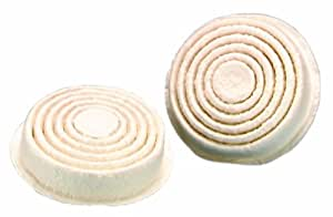 MSA Safety Works 817668 Paint and Pesticide Respirator Replacement Pre-filters, 4-Pack