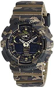GSHOCK mens Automatic Watch, analog-digital Display and Resin Strap GA100CM-5A