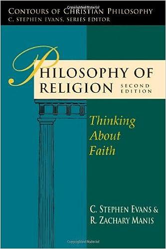 amazon com philosophy of religion thinking about faith contours
