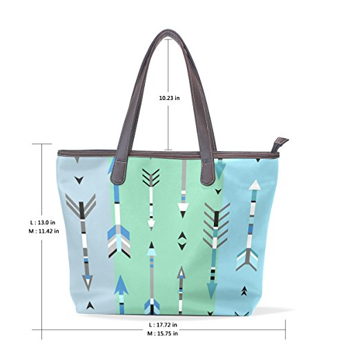Large Handle Boho Top Arrows Tribal Bags Bennigiry Ladies Shoulder Women Tote Handbag Patern xzIqt51R