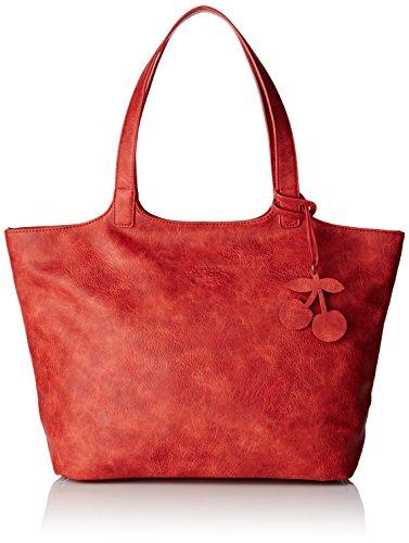 Le Temps des Cerises Women's Phoenix Ltc3v2t Top-Handle Bag red Rouge (Rose Framboise)