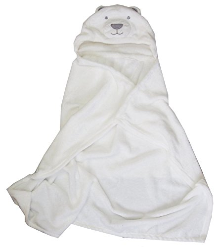Kirei Sui Baby Polar Bear Hooded Blanket (Polar Bear Blanket)