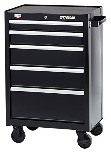 Waterloo W300 Series 5-Drawer Rolling Tool Cabinet, 26