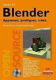 Blender : Apprenez, pratiquez, créez (1DVD) par Marie-france Soler
