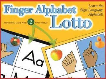 Harris Communications GP-LOTTO Finger Alphabet Lotto
