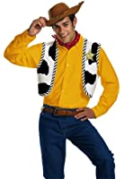 Disguise Men's Disney Pixar Toy Story and Beyond Woody Adult Costume Kit
