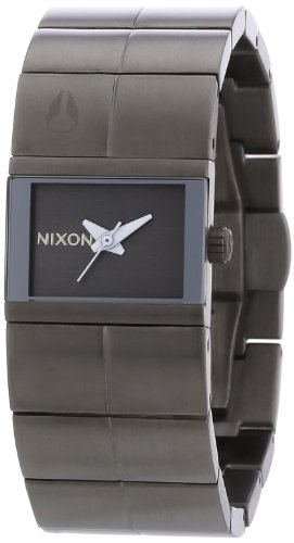 Cougars Womens Watch (Nixon Women's Cougar A190131 Grey Stainless-Steel Quartz Watch)