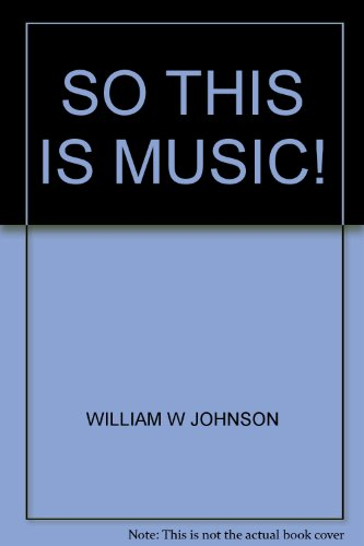 So this is music!