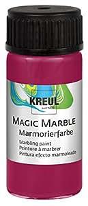 "KREUL C.KREUL Marmorierfarbe ""Magic Marble"", rubinrot, 20 ml"