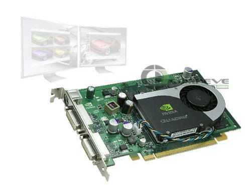 NVIDIA Quadro FX 1700 - Graphics adapter - Quadro FX 1700 - PCI Express x16 - 512 MB DDR2 - DVI - CTO by NVIDIA