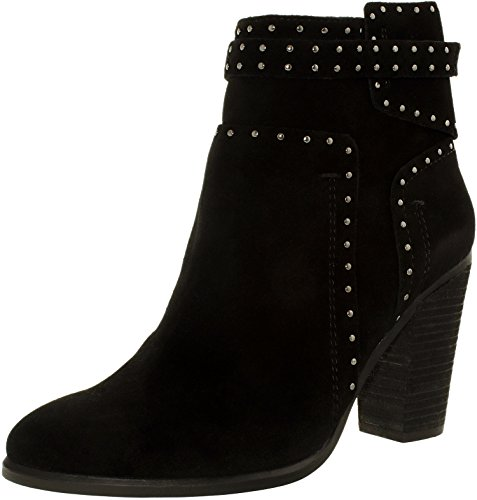 Vince Camuto Women's Faythes Black Verona 1 Boot 7.5 M