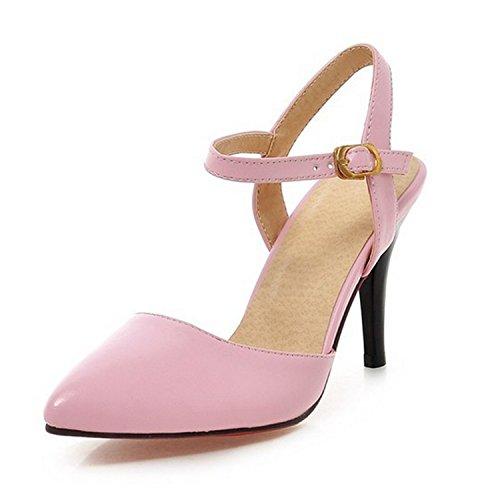Women's high office cap heel shoes Pink toe Nonbrand sandals summer df1Snd