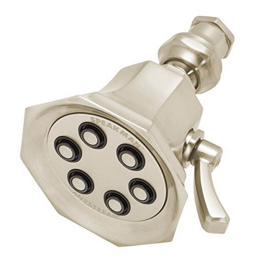 Speakman S-2255-BN Anystream Vintage 6-Jet Showerhead