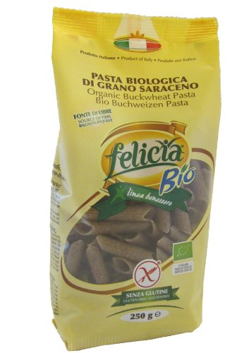 Glutenfreie Penne Buchweizen-Nudeln Bio, 250 g