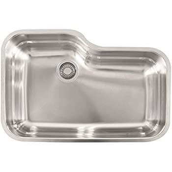 Ordinaire Franke USA ORX110 Franke Gauge Undermount Single Bowl Stainless Steel  Kitchen Sink, 30.5 20 X 9 Inch Deep
