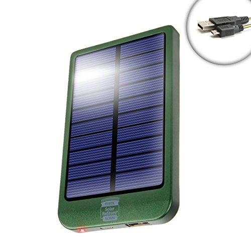 ReStore SL2600 Solar Battery Pack with 2600mAh Power Bank an