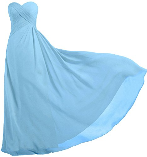 light blue maid dress - 8