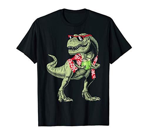 Funny Dinosaur T Rex Hawaiian Shirt Summer -