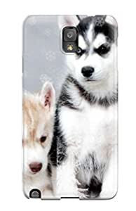 Hot Hot Fashion Design Case Cover For Galaxy Note 3 Protective Case (husky Snow Dogs) 3141933K54356550