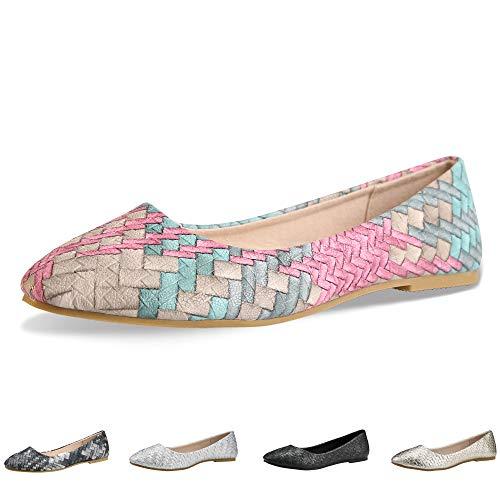 2469d895eaf1 Walking Flats Women s Shoes Black Comfortable Ballet Soles Simple Ballerina  Flats