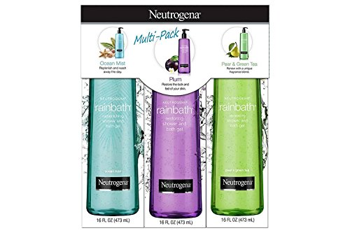 Neutrogena-Rainbath-Multi-Pack-of-3-x-16oz-ea-Plum-Green-Tea-and-Ocean-Mist by Neutrogena
