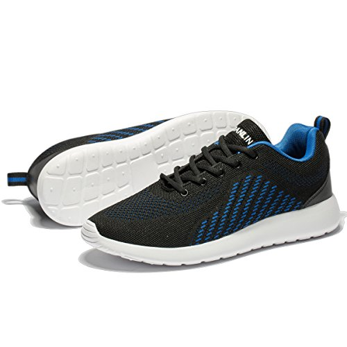 Pictures of VSDANLIN Men's Breathable Knit Running Shoes 3