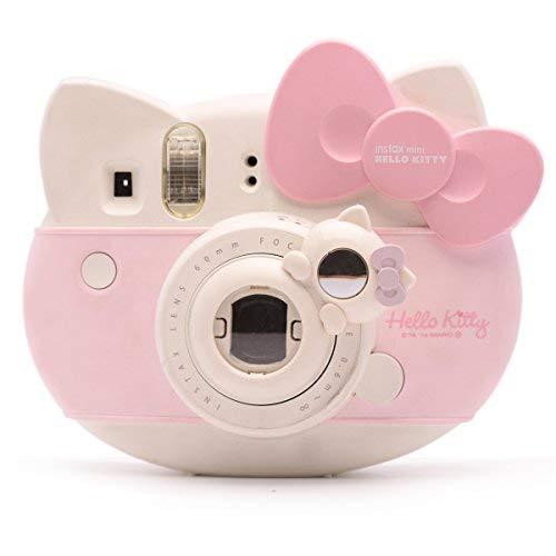 Lovely Kitty Selfie and Close Up Lens Shot Mirror for Fujifilm Instax Mini 8 Mini 9 Polaroid PIC-300 Hellokitty Instant Camera (White Cat)