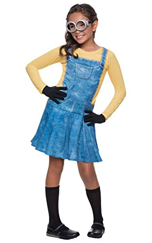 Children's Minion Halloween Costume (Rubie's Costume Minions Female Child Costume,)