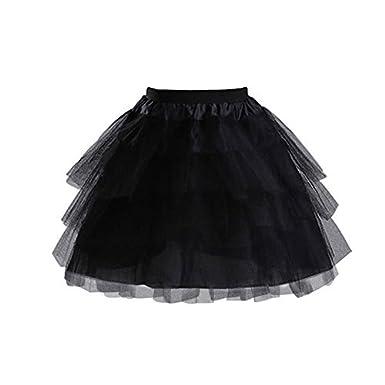 Petticoat Short Multi-layers Tulle Crinoline Underskirt For Girl Women