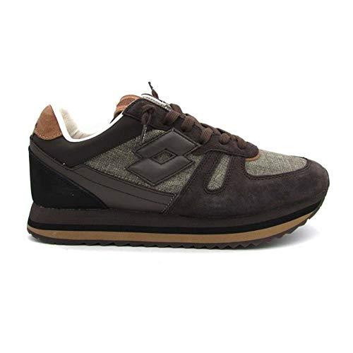 Sneakers 41 Kyoto T7402 Nero Marrone Nero Lotto zgXq55