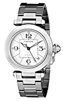 Cartier Men's W31074M7 Pasha C Stainless Steel Automatic Watch