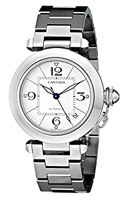 Cartier Men's W31074M7 Pasha C Stainless Steel Automatic Watch by Cartier