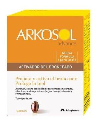 Arkopharma Arkosol Activador Bronceado 30 Perlas