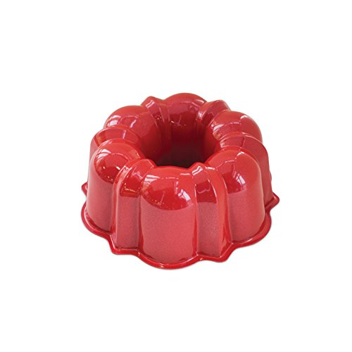 Nordic Ware 3-Cup Bundt Pan, Red - Nordic Ware Formed Bundt Pan